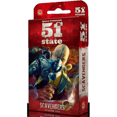 Buy 51st State - Scavengers and more Great Board Games Products at 401 Games