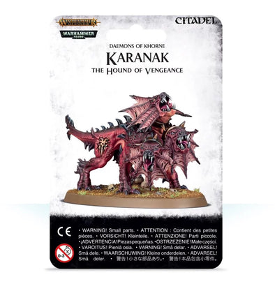 Buy Warhammer - Age of Sigmar - Daemons of Khorne - Karanak, The Hound of Vengeance and more Great Games Workshop Products at 401 Games