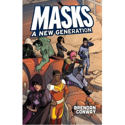 Apocalypse - Masks: A New Generation - Core Rulebook (Softcover) available at 401 Games Canada