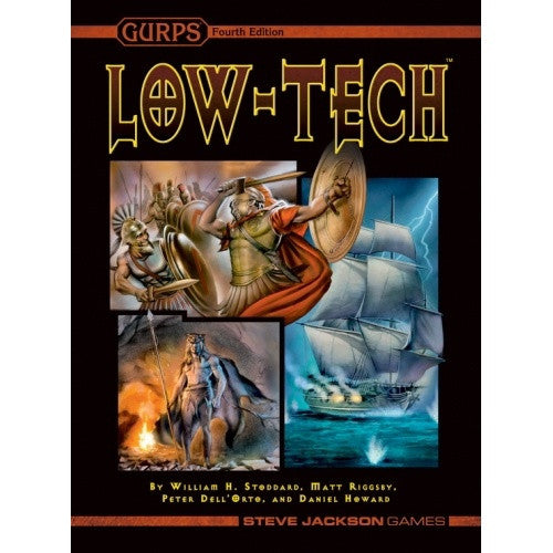 Gurps - Low-Tech available at 401 Games Canada