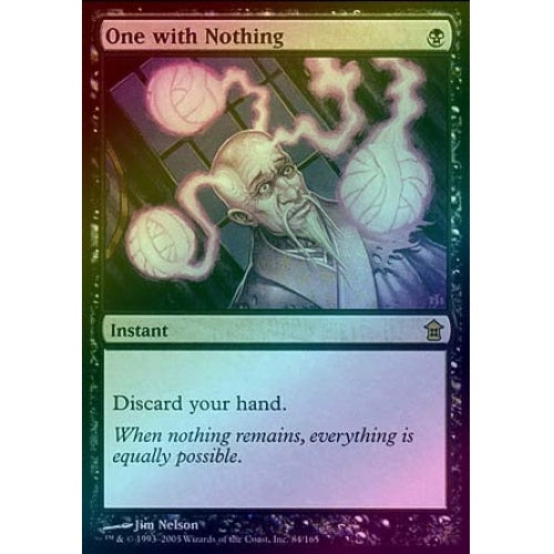 One with Nothing (Foil) - 401 Games