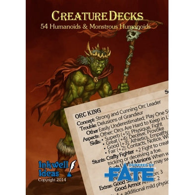 Fate - Creature Deck - Humanoids & Monstrous Humanoids available at 401 Games Canada