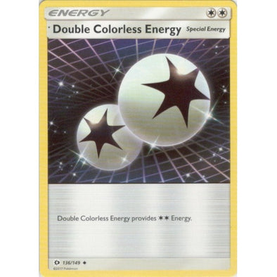 Double Colorless Energy - 136/149 - 401 Games