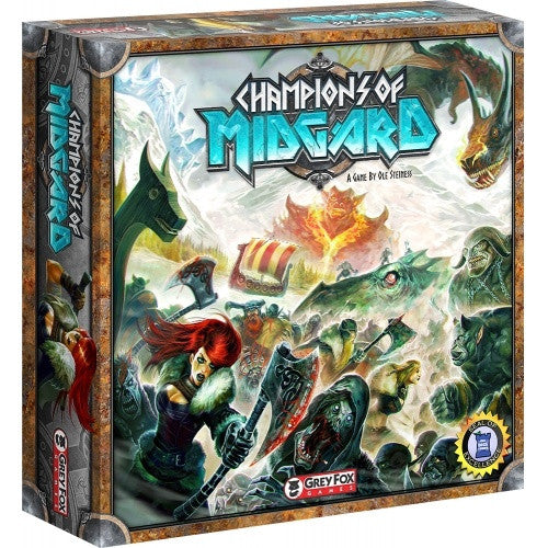 Buy Champions of Midgard and more Great Board Games Products at 401 Games