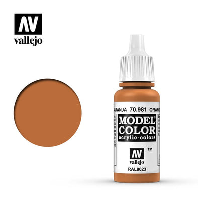 Vallejo - Model Color - Orange Brown available at 401 Games Canada