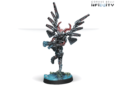Infinity - Combined Army - Fraacta Drop Unit (Spitfire) - 401 Games