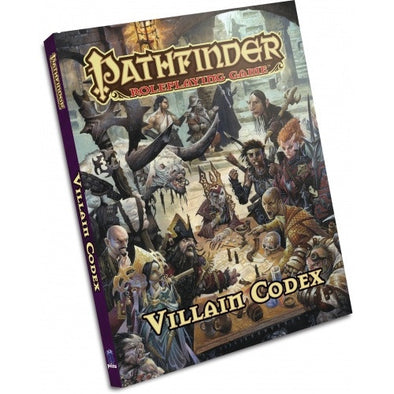 Buy Pathfinder - Book - Villain Codex and more Great RPG Products at 401 Games