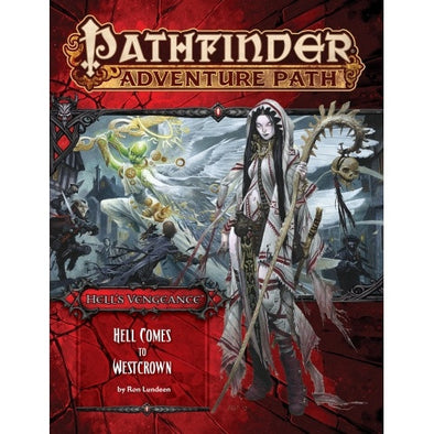 Pathfinder - Adventure Path - #108: Hell Comes to Westcrown (Hell's Vengeance 6 of 6) available at 401 Games Canada