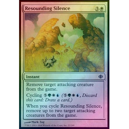 Resounding Silence (Foil) (ALA) available at 401 Games Canada