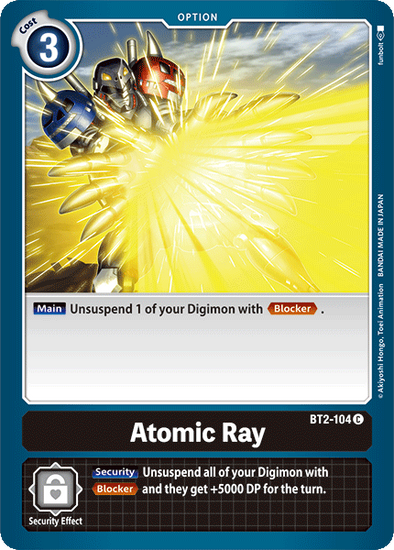 Atomic Ray (BT2-104) available at 401 Games Canada