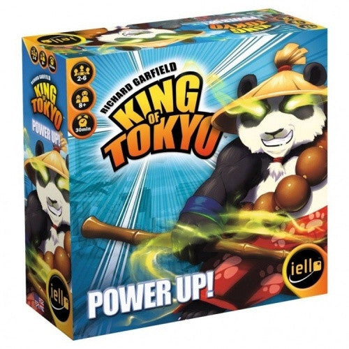 King of Tokyo - Power Up - Second Edition available at 401 Games Canada