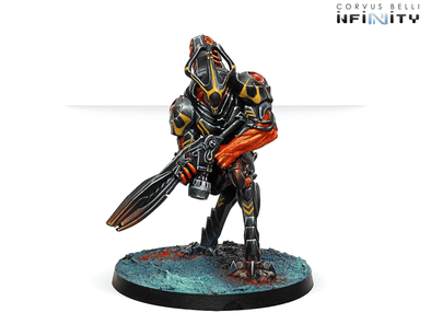Infinity - Combined Army - The Charontids (Plasma Rifle) available at 401 Games Canada
