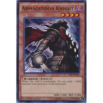 Armageddon Knight - (Super Rare) (THSF) available at 401 Games Canada