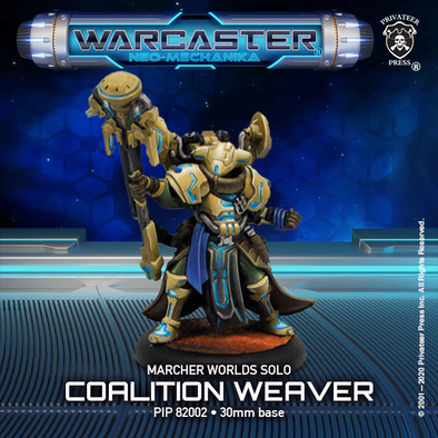 Warcaster - Neo-Mechanika - Marcher Worlds - Coalition Weaver - 401 Games