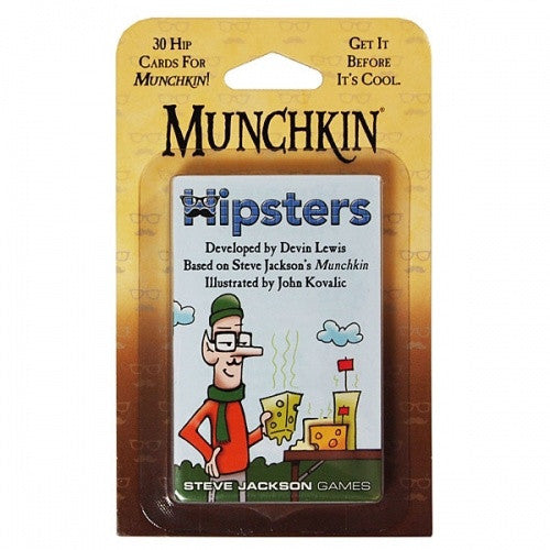 Munchkin Hipsters available at 401 Games Canada