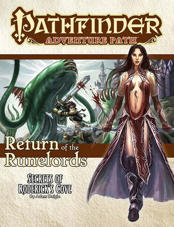 Buy Pathfinder - Adventure Path - #133 Secret of Roderick's Cove (Return of the Runelords 1 of 6) and more Great RPG Products at 401 Games