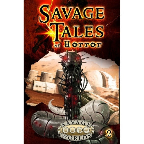 Savage Worlds - Tales of Horror - Volume 2 Hardcover - 401 Games