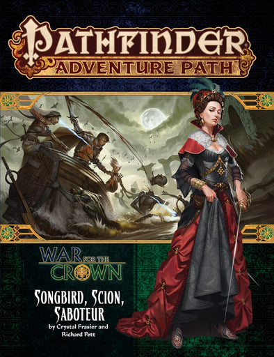 Pathfinder - Adventure Path - #128: Songbird, Scion, Saboteur (War for the Crown 2 of 6) - 401 Games