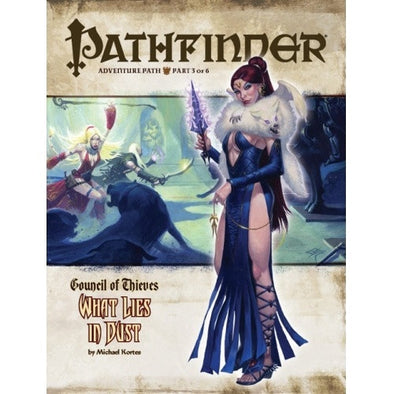 Buy Pathfinder - Adventure Path - #27: What Lies in Dust (Council of Thieves 3 of 6) and more Great RPG Products at 401 Games