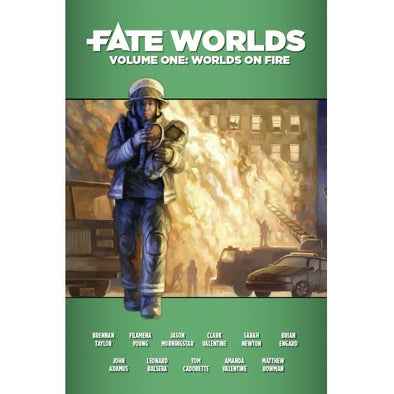 Fate - Worlds Volume 1: Worlds on Fire available at 401 Games Canada