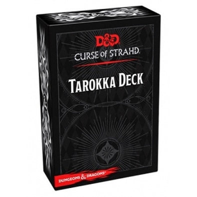 Buy Dungeons & Dragons - 5th Edition - Curse of Strahd - Tarokka Deck and more Great RPG Products at 401 Games