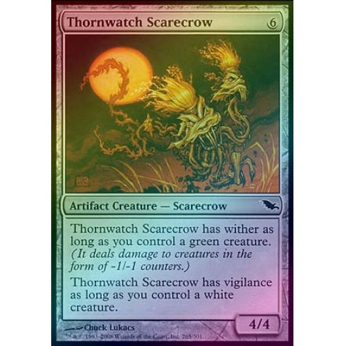 Thornwatch Scarecrow (Foil) - 401 Games