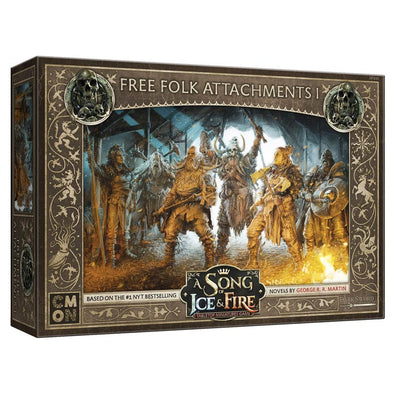 A Song of Ice and Fire - Tabletop Miniatures Game - Free Folk - Attachments 1 (Pre-Order) - 401 Games