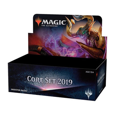 Buy MTG - Core Set 2019 - Booster Box - French and more Great Magic: The Gathering Products at 401 Games