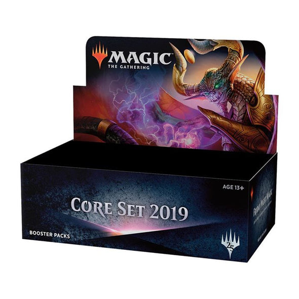 Buy MTG - Core Set 2019 - Booster Box - Japanese and more Great Magic: The Gathering Products at 401 Games
