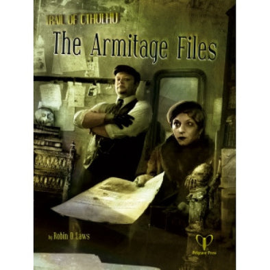 Buy Trail of Cthulhu - The Armitage Files and more Great RPG Products at 401 Games