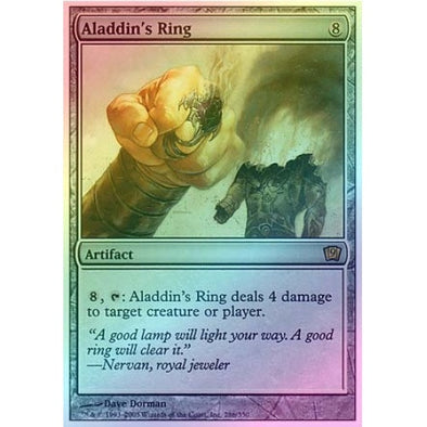 Aladdin's Ring (Foil) available at 401 Games Canada