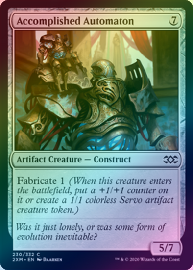 Accomplished Automaton (FOIL) (2XM)