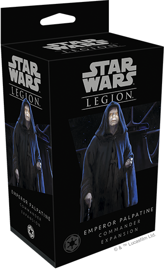 Star Wars - Legion - Imperial - Emperor Palpatine Commander Expansion - 401 Games