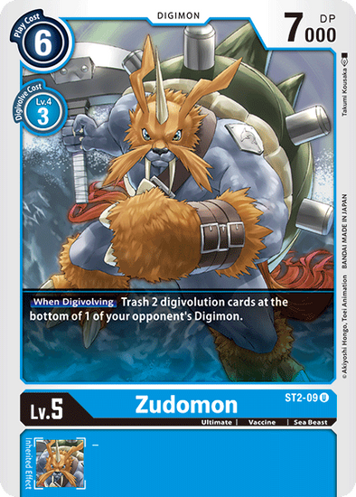 Zudomon (ST2-09) available at 401 Games Canada