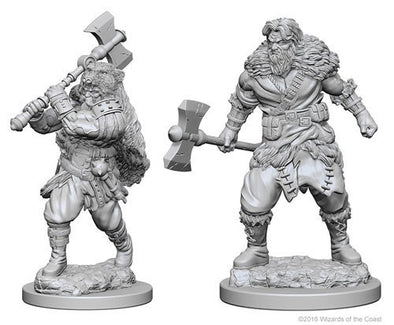 Dungeons and Dragons Nolzur's Marvelous Unpainted Minis: Human Male Barbarian - 401 Games