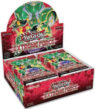 Yugioh - Extreme Force Booster Box (Pre-Order Feb 1,2017) - 401 Games