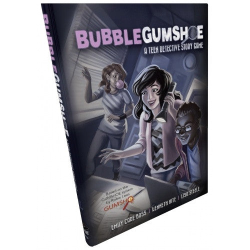 Bubblegumshoe - Core Rulebook available at 401 Games Canada