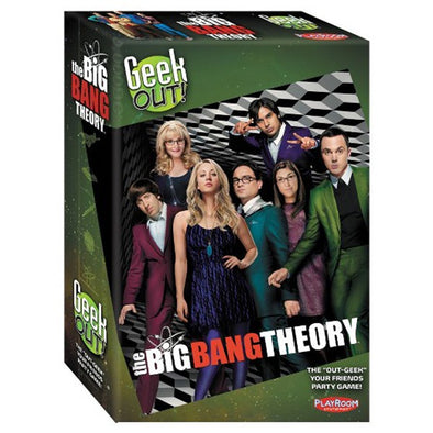 Buy Geek Out! - The Big Bang Theory and more Great Board Games Products at 401 Games