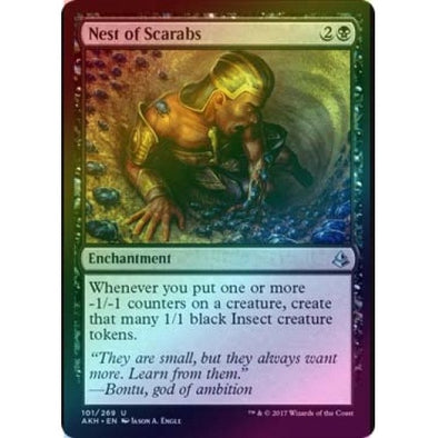Nest of Scarabs (Foil) (AKH) available at 401 Games Canada
