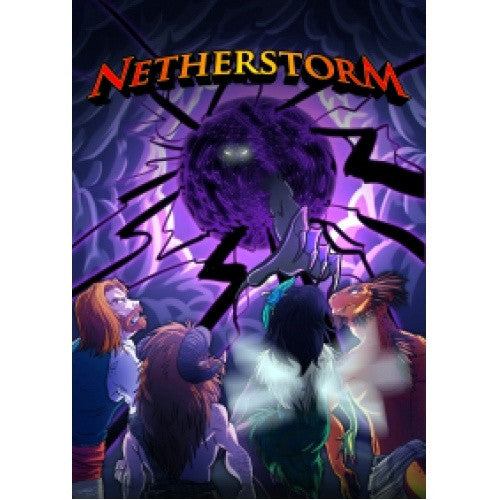 Netherstorm - Core Rulebook available at 401 Games Canada