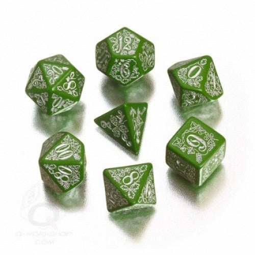 Dice Set - Q-Workshop - 7 Piece Set - Pathfinder - Kingmaker - 401 Games