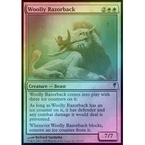 Woolly Razorback (Foil) (CSP) - 401 Games