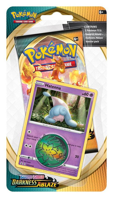 Pokemon - Darkness Ablaze Check Lane Blister - Hatenna (Pre-Order Aug 14,2020) - 401 Games