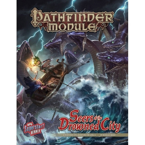 Pathfinder - Module - Seers of the Drowned City - 401 Games