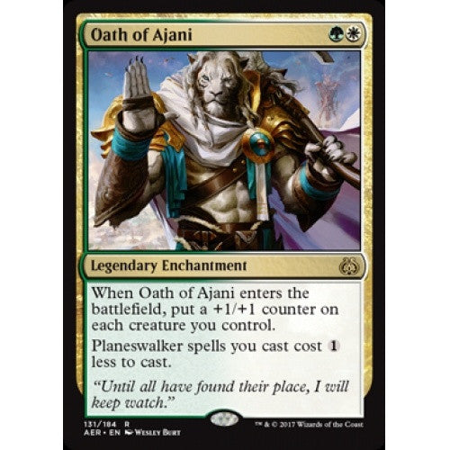 Oath of Ajani (AER) available at 401 Games Canada