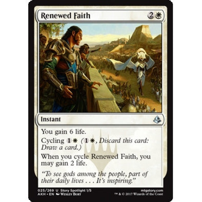 Renewed Faith (AKH) available at 401 Games Canada