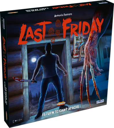 Buy Last Friday - Return to Camp Apache and more Great Board Games Products at 401 Games