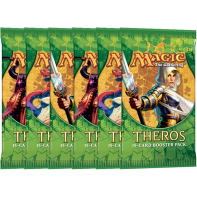 Buy MTG - Theros Spanish Booster Pack and more Great Magic: The Gathering Products at 401 Games