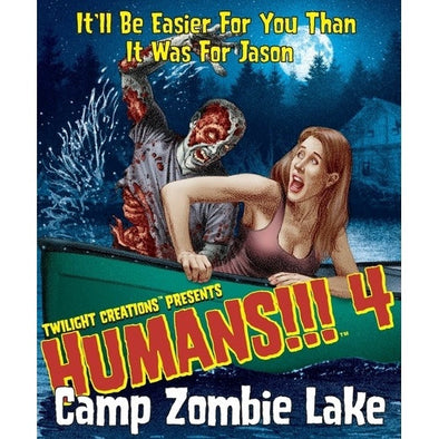 Humans!!! 4: Camp Zombie Lake Expansion available at 401 Games Canada