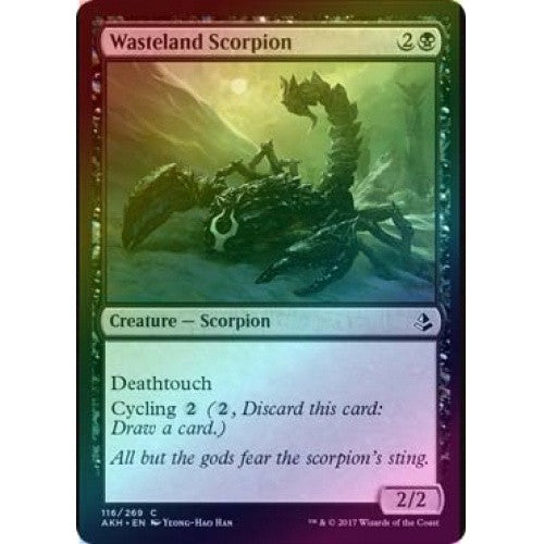 Wasteland Scorpion (Foil) (AKH) available at 401 Games Canada